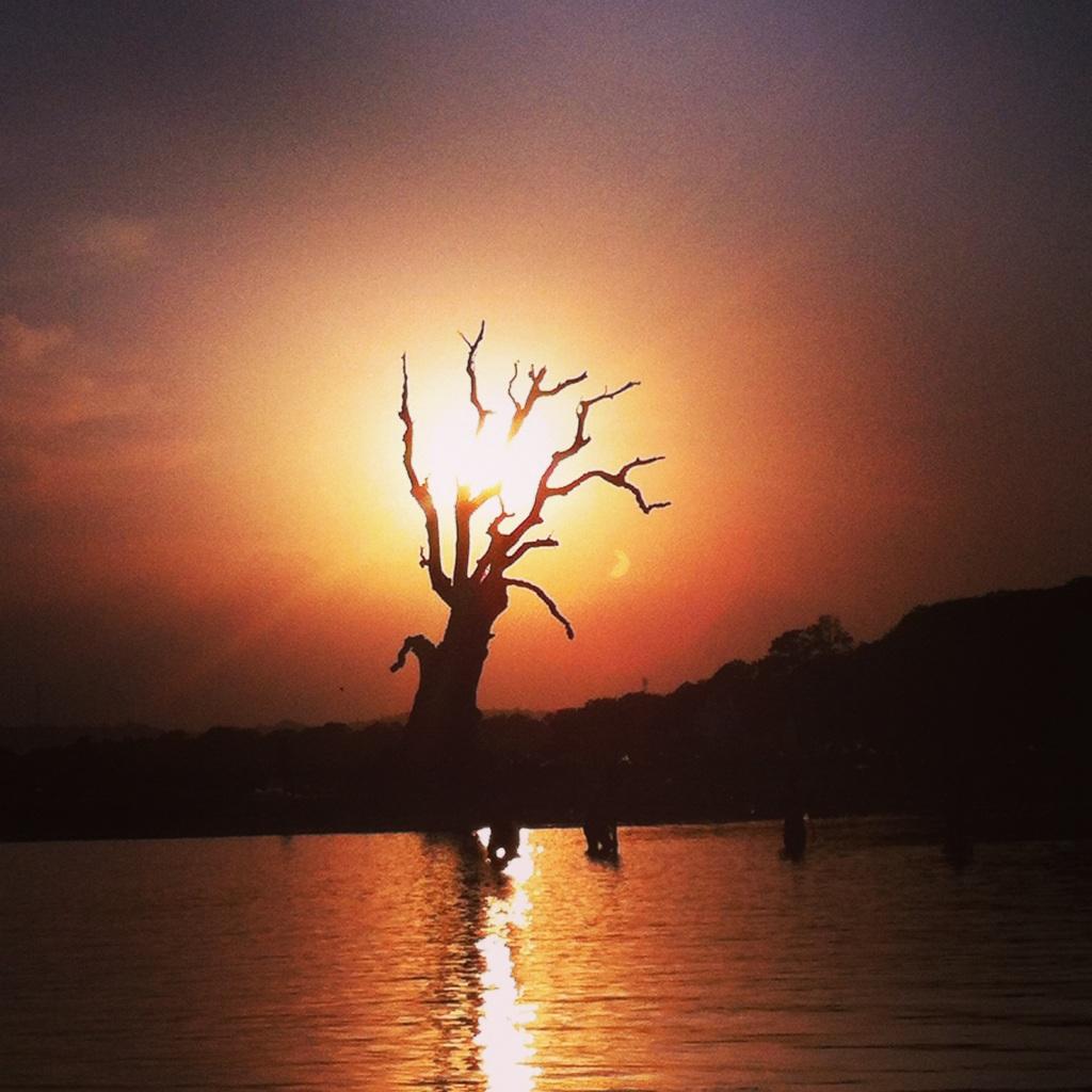 Mesmerising sunset
