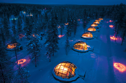 Igloos at Kakslauttanen, Finland